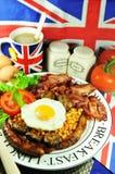 早餐英语 免版税图库摄影