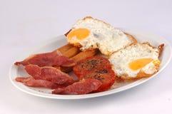 早餐英语 库存照片