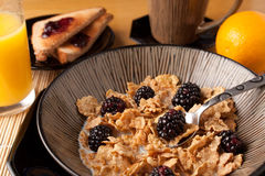 早餐食品早晨 图库摄影