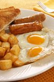 早餐鸡蛋 免版税库存图片
