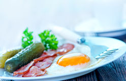 早餐 免版税图库摄影