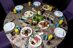 早餐serpme kahvaltı 库存照片