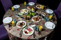 早餐serpme kahvaltı 免版税库存图片