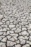 旱田,裂缝在土地 库存照片