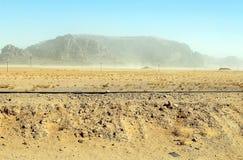 旱谷兰姆酒沙漠 库存照片