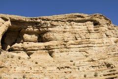 旱谷Kelt沙漠峡谷  免版税图库摄影
