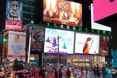 时代广场纽约城 图库摄影