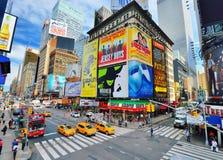 时代广场纽约 库存照片