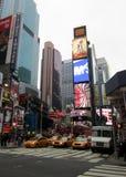 时代广场纽约 免版税库存图片