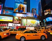 时代广场,纽约。 库存照片