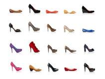 时兴的女性鞋子 库存照片