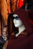 时尚佩带的时装模特 免版税库存照片