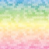 时尚几何彩虹摘要背景 库存图片