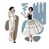 时尚女孩2 免版税库存图片