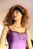 时尚妇女时装模特 图库摄影