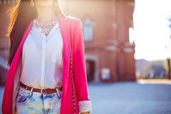 时尚妇女 免版税库存照片
