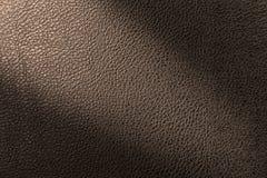 时尚家具内部外部装饰构思设计的皮革纹理背景 图库摄影