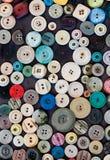 时尚按钮 免版税图库摄影