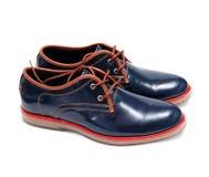 时尚男性和女性鞋子 免版税库存照片