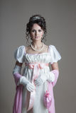 时尚设计- 19世纪的历史 免版税库存照片