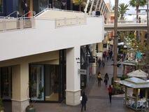 时尚谷购物中心在圣地亚哥,加利福尼亚 免版税库存图片