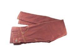 时尚长裤 库存图片