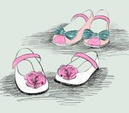 时尚鞋子 库存图片