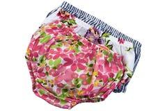 时尚婴孩内裤 库存图片
