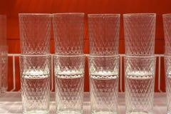 时尚玻璃玻璃 免版税库存照片