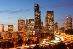 时数仓促西雅图 免版税库存照片