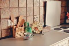时数厨房 免版税图库摄影