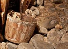 时段干燥开采河葡萄酒 免版税库存图片