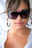 时装模特儿年轻人 免版税库存图片