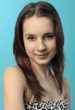 时装模特儿微笑的年轻人 图库摄影