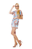 时装的妇女 图库摄影