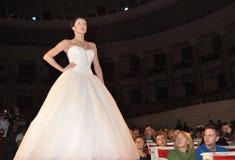 时装表演婚礼 库存图片
