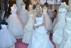 时装表演婚礼 库存照片