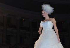 时装表演婚礼 免版税库存照片