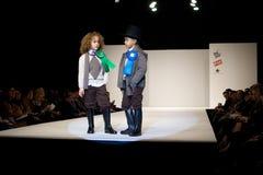 时装表演巴伦西亚 免版税库存照片