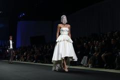时装表演新的收藏 免版税库存图片