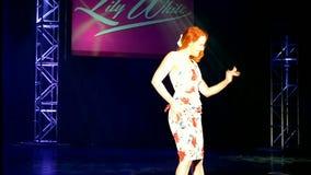 时装表演2016年,维瓦拉斯维加斯,美国, 影视素材