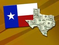 时运得克萨斯 免版税图库摄影