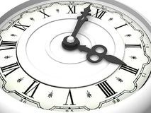 时钟。 三时 库存照片