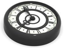 时钟。 八时 免版税库存图片