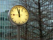 时钟二 图库摄影