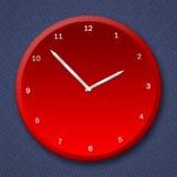 时钟例证 免版税库存照片