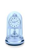 时钟减速火箭的窗框 库存照片