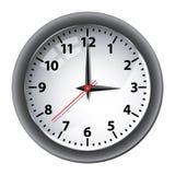 时钟办公室墙壁 免版税库存图片