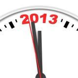 时钟和2013年 免版税库存图片