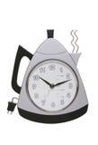 时钟咖啡 免版税库存照片